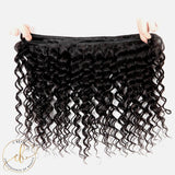 Brazilian Virgin Hair - Deep Wave 3 Bundles