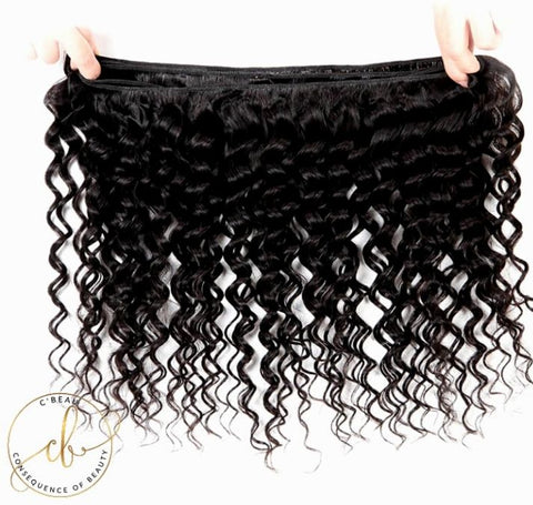 Brazilian Virgin Hair - Deep Wave 2 Bundles