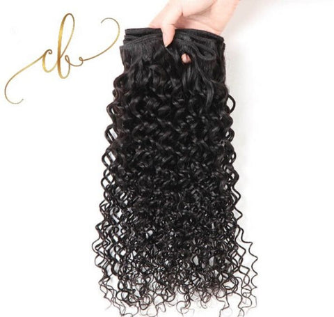 Brazilian Virgin Hair - Curly 2 Bundles
