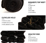 Brazilian Virgin Hair - Loose Deep Wave 1 Bundle