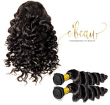 Brazilian Virgin Hair - Loose Deep Wave 2 Bundles