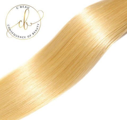 Blonde Brazilian Virgin Hair - Straight 3 Bundles