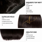 Brazilian Virgin Hair - Straight 3 Bundles
