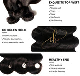 Brazilian Virgin Hair - Body Wave 2 Bundles