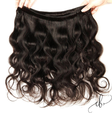 Brazilian Virgin Hair - Body Wave 3 Bundles