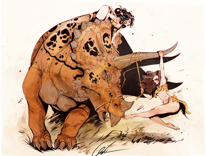 Triceratops Wrangling