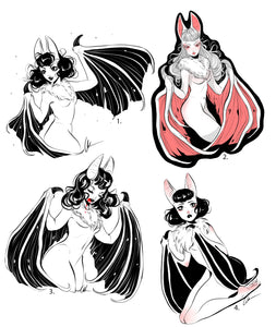 Bat Sticker Pack