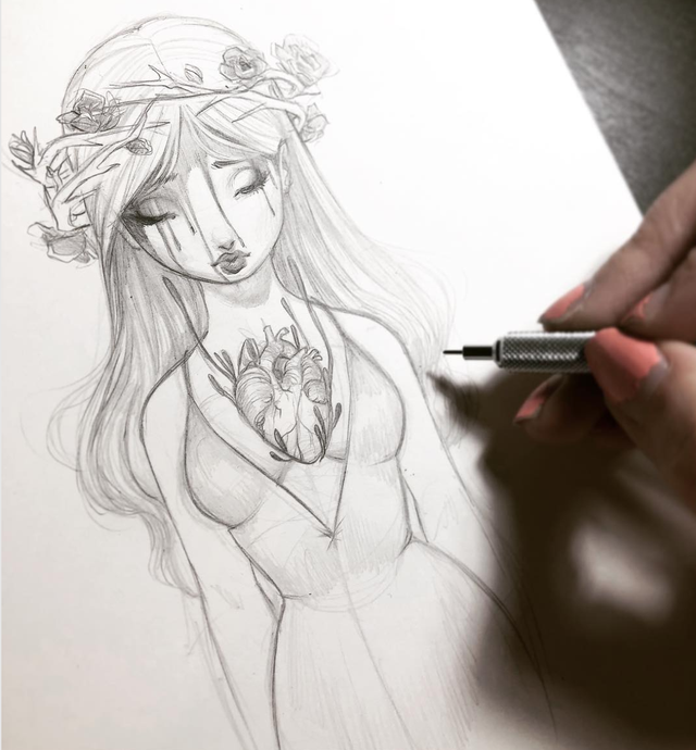 Rose Sketch | Original