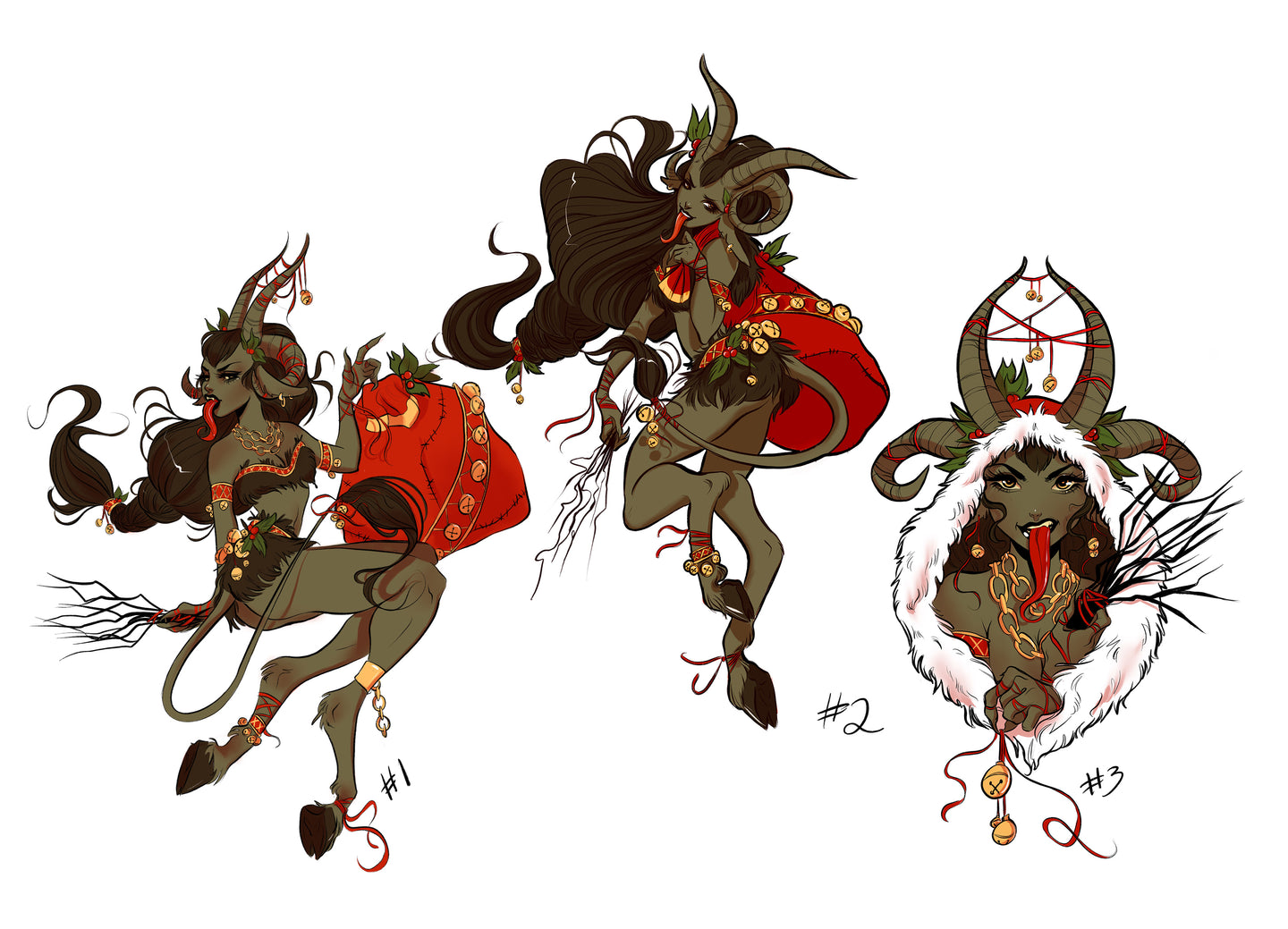 LIMITED EDITION Krampus Sticker Pack