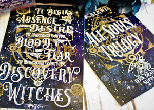 """Discovery of Witches"" Quote Print - All Souls"