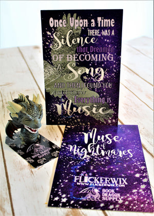 Muse of Nightmares Quote Print