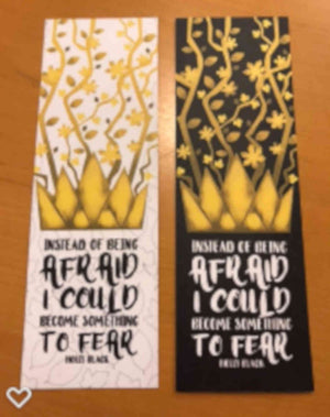 """Something to Fear"" Bookmarks - Cruel Prince"