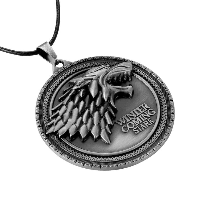 GoT - House Stark Sigil Medallion