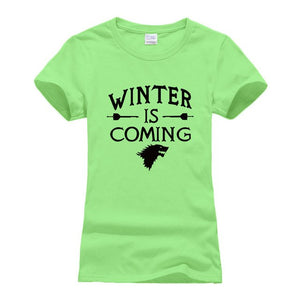 Women's Winter is Coming GoT Inspired T-Shirt