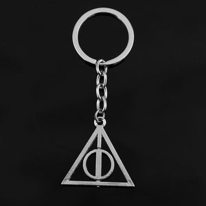 The Deathly Hallows Keychain