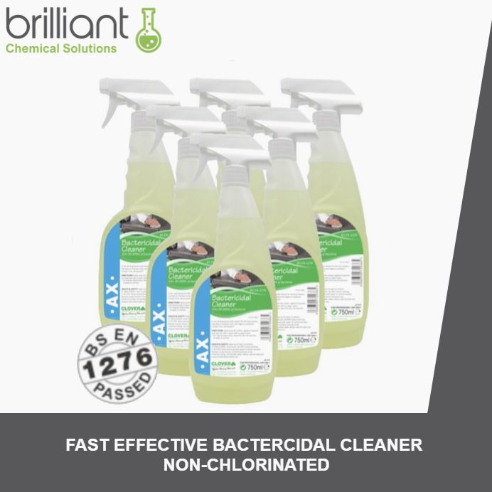 Clover AX Ready to Use Bactericidal Cleaner | Brilliant Chemical Solutions