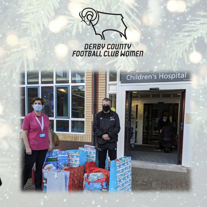 Delivering Christmas Gifts to Derby Royal Hospital Children's Ward | Brilliant Chemical Solutions