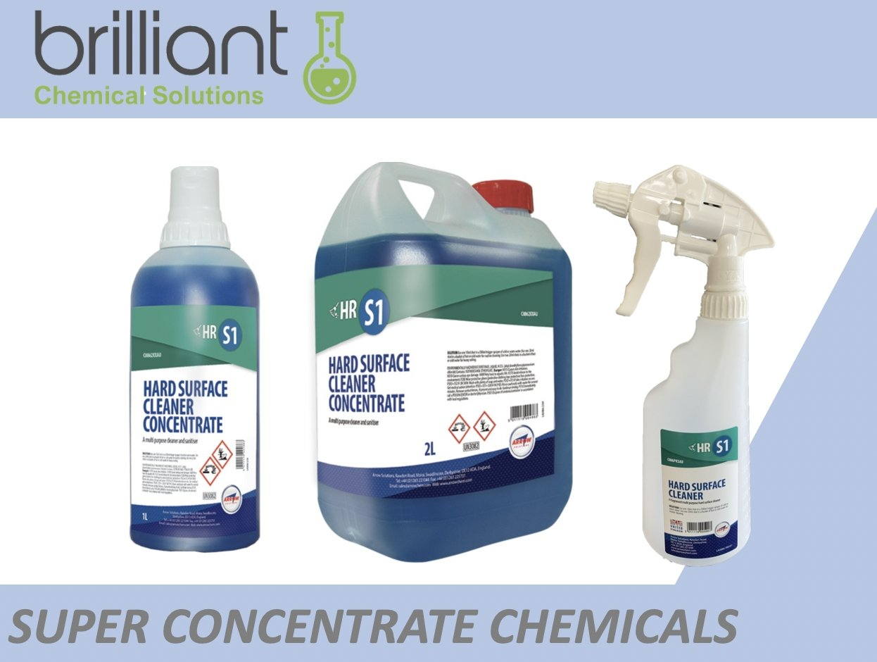 Why should you use concentrate chemicals instead of ready to use chemicals? | Brilliant Chemical Solutions