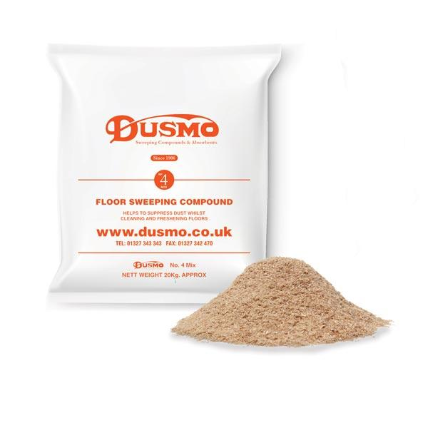 Dusmo No.4 Mix Orange Label Floor Sweeping Compound - Brilliant Chemical Solutions