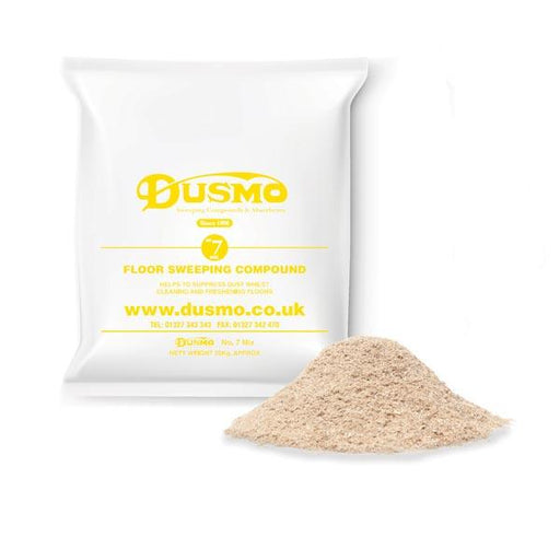Dusmo No.7 Mix Yellow Label Sweeping Compound - Brilliant Chemical Solutions
