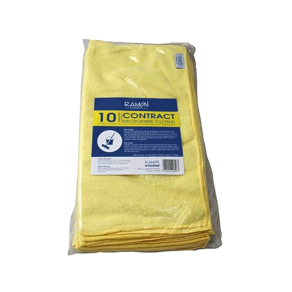 Optima Microfibre Cloths x10 - Brilliant Chemical Solutions
