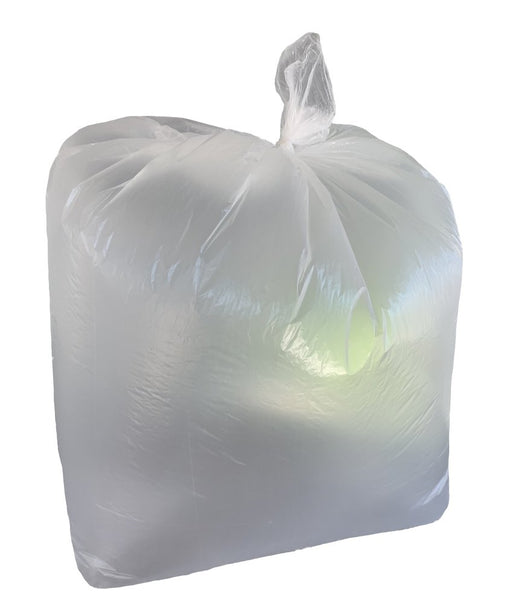 SafeWaste Clear Refuse Sacks/Bags x200 - Brilliant Chemical Solutions