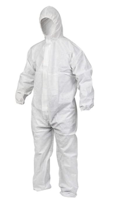 White Type 5/6 Classic Coverall - Brilliant Chemical Solutions