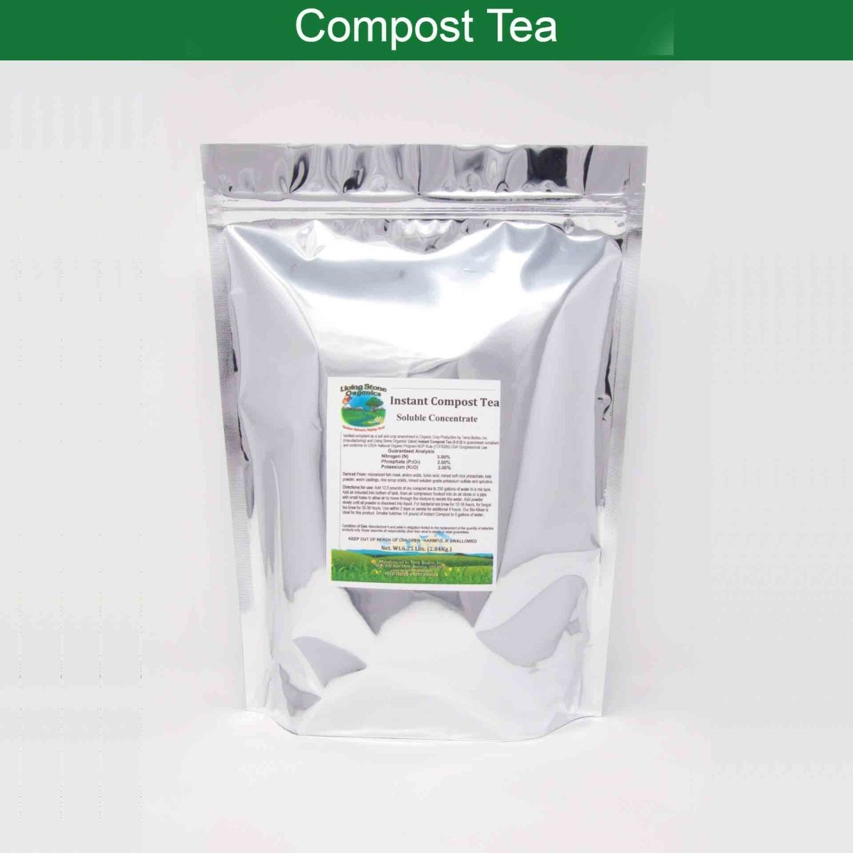 Instant Compost Tea - Terra Biotics