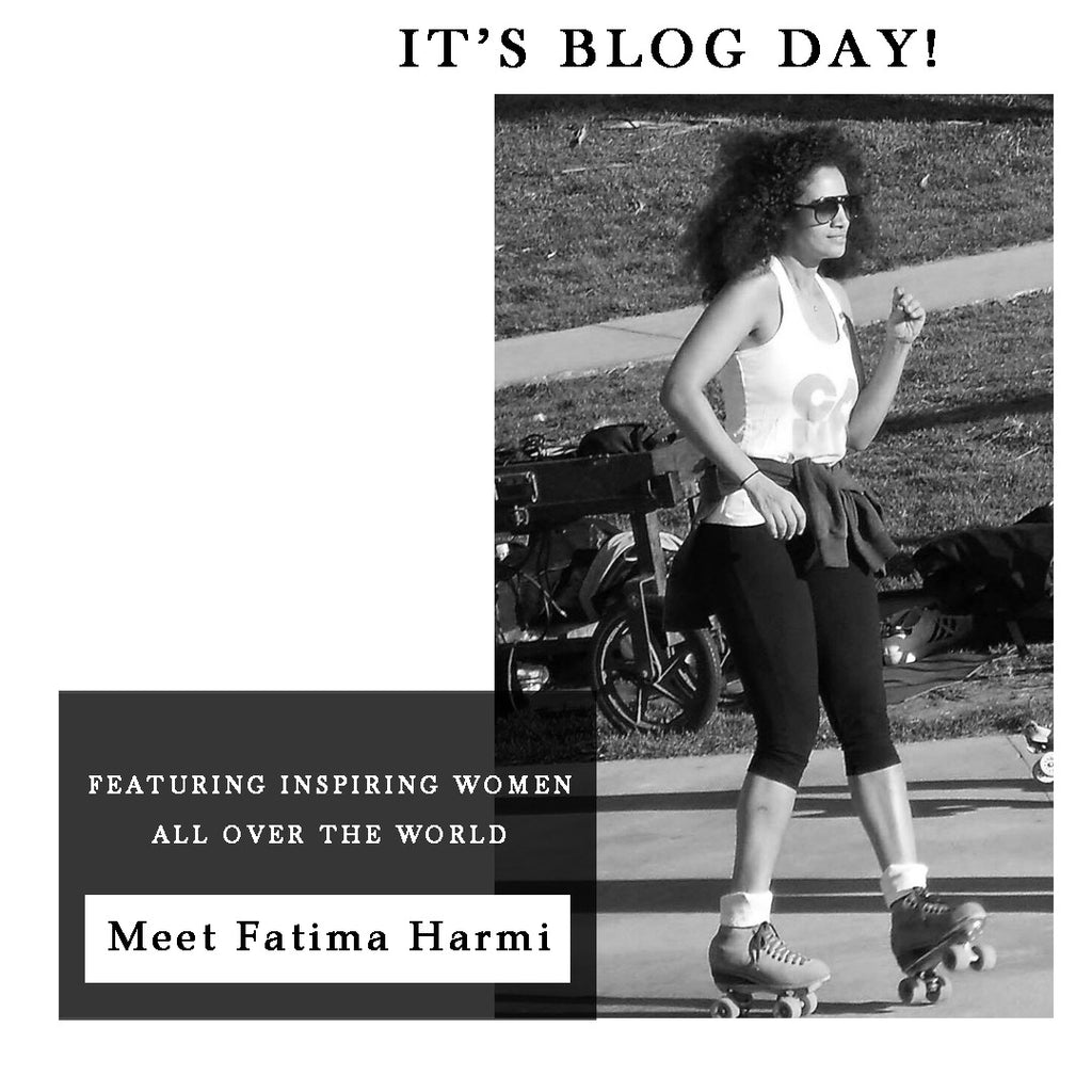 ABOUT A GIRL WHO LIVES IN LOS ANGELES : FATIMA HARMI