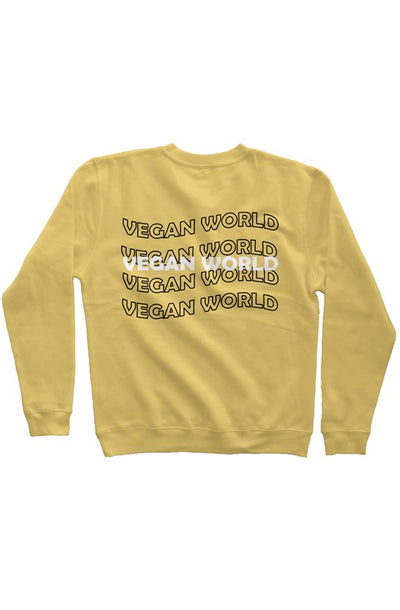 Vegan World Wave Pigment Dyed Sweatshirt