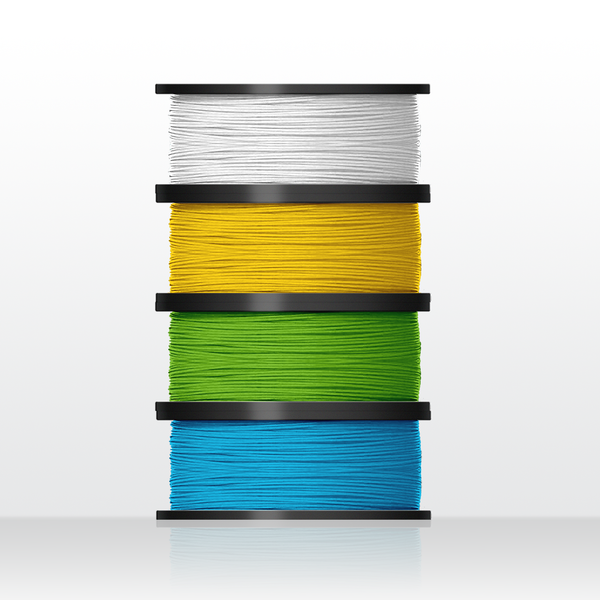 4 rolls biodegradable PLA filament (for Up Mini2)