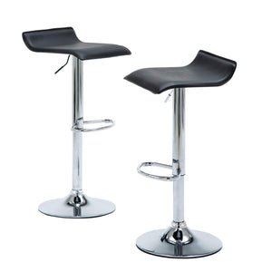 Sensational Modern Bar Stools For Kitchen Counter Chrome Finish Black Squirreltailoven Fun Painted Chair Ideas Images Squirreltailovenorg