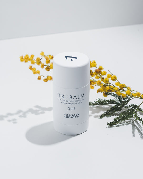 Tri-Balm with flowers