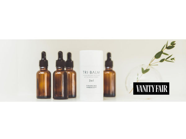 Tri-Balm featured in Vanity Fair