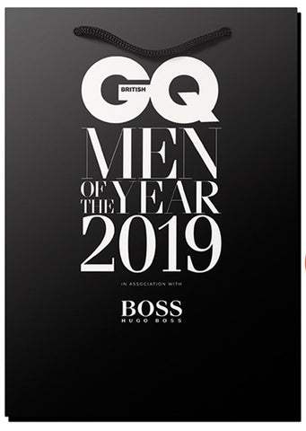 GQ Men of the Year Winner's Goodie Bag 2019