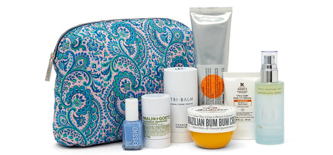 Liberty summer beauty bag