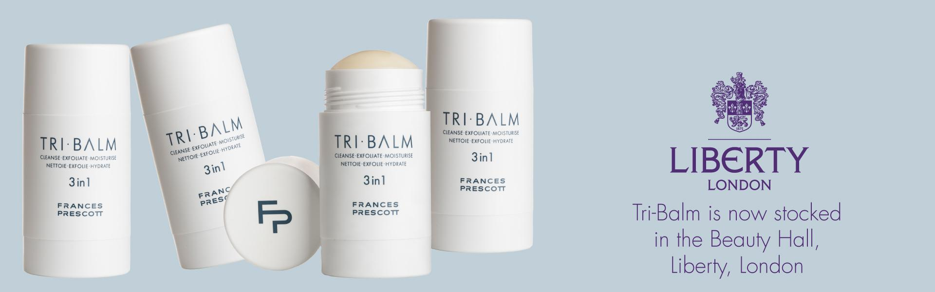 Tri-Balm photographed by Ian Skelton stocked at Liberty