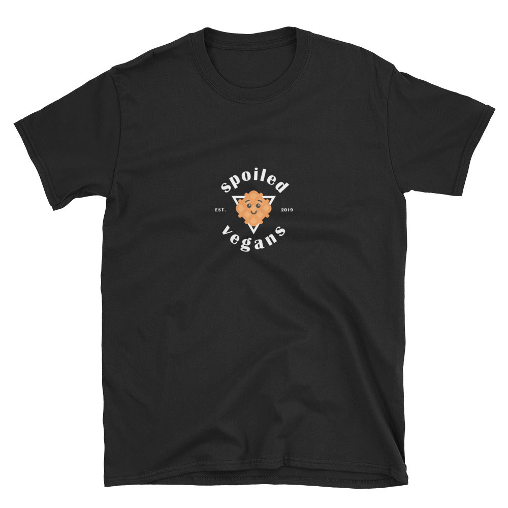 spoiled vegans cafe short-sleeve unisex t-Shirt