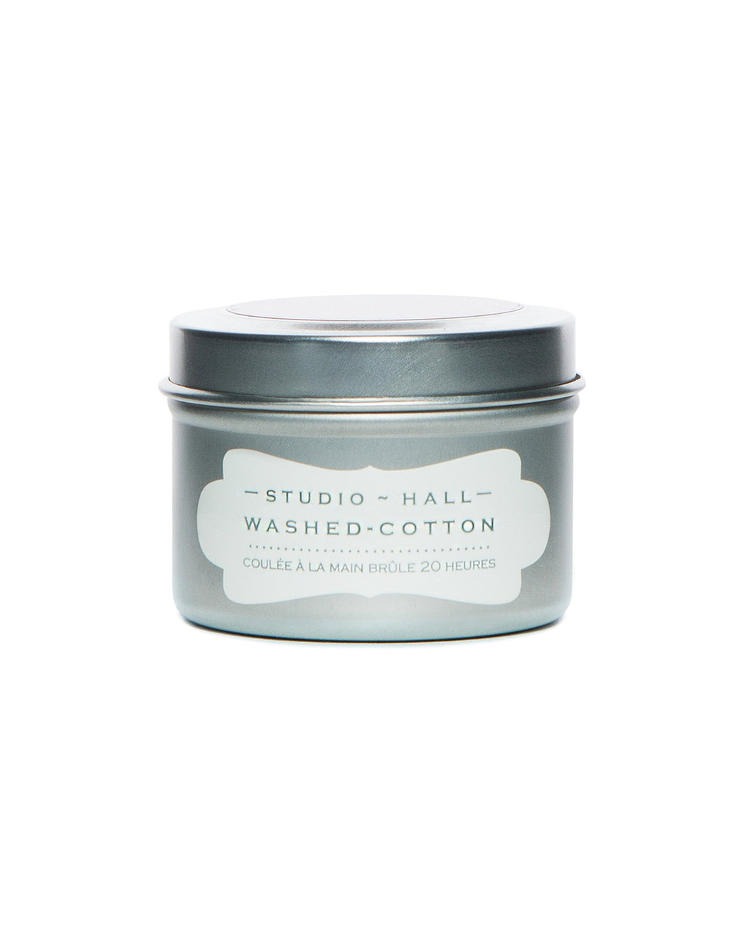 Washed Cotton 2oz Travel Candle