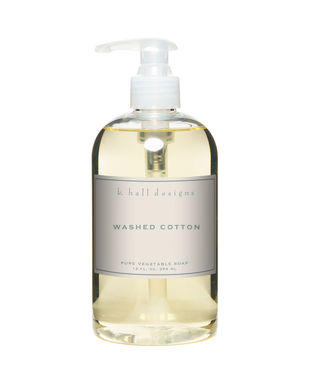 Washed Cotton 12oz Hand Soap