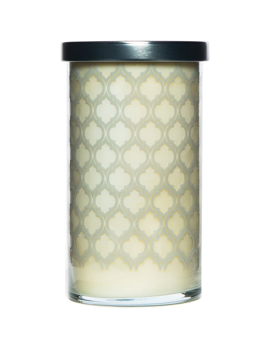 Milk Screen Printed Candle