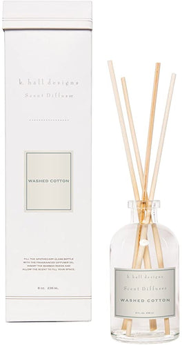 Washed Cotton Reed Box Diffuser