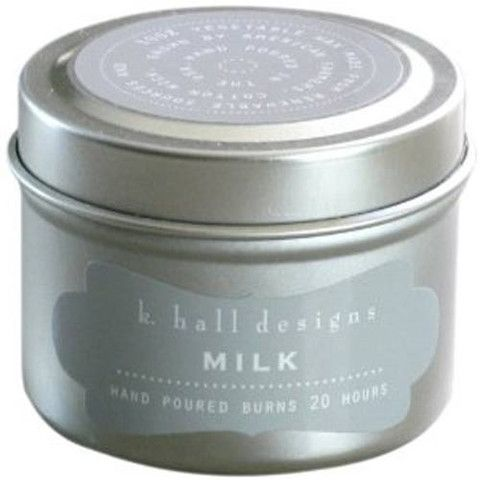 Milk 2oz Travel Candle