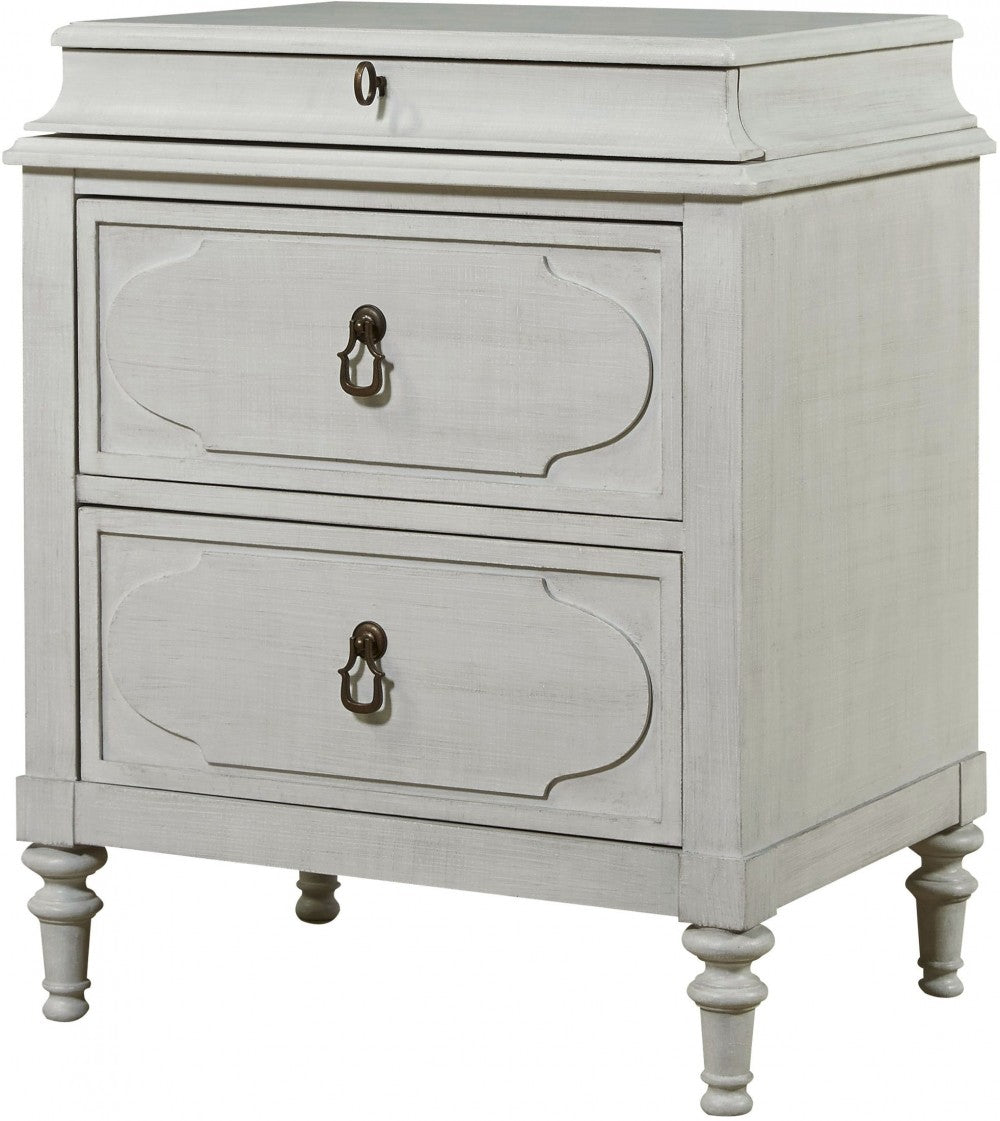 Cancale Linen Bedside Chest
