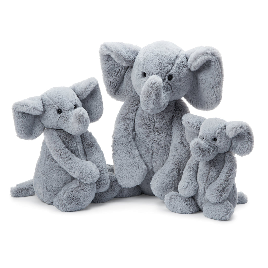Bashful Grey Elephant Large