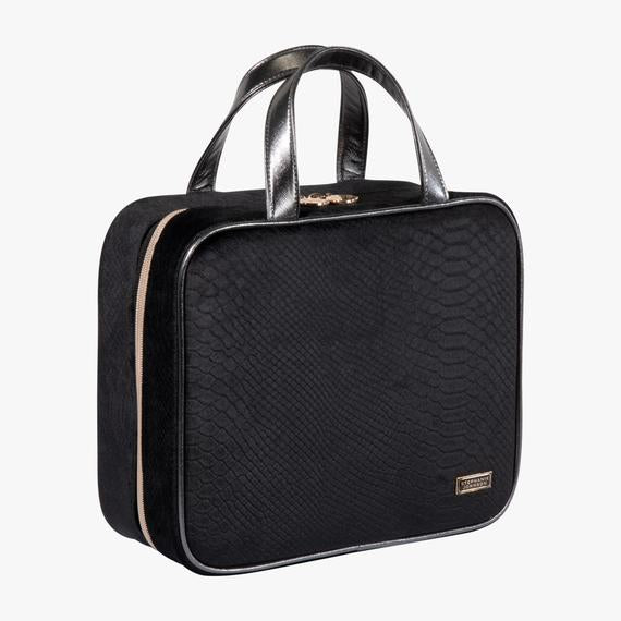 Marais Noir Martha Large Briefcase Makeup Bag