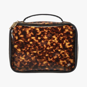 Miami Clearly Tortoise Claire Jumbo Makeup Bag