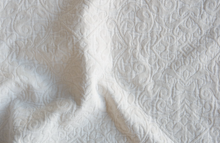 Bella Notte Vienna Queen Coverlet - Winter White