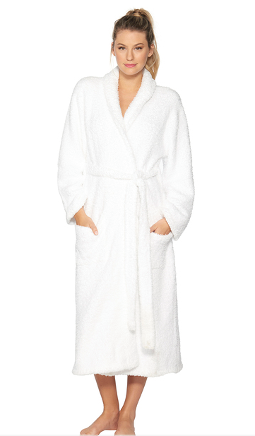 Cozychic White Adult Robe