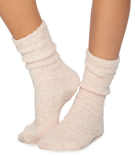 Cozychic Dusty Rose Women's Socks